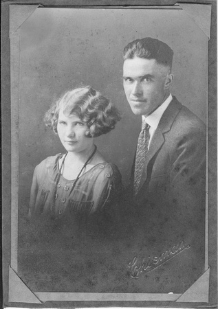 Ace and Zella Cudworth Aug 11 1929